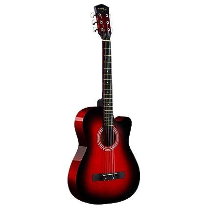 Loivrn Guitarra de 38 pulgadas Guitarra acústica de piano Guitarra ...