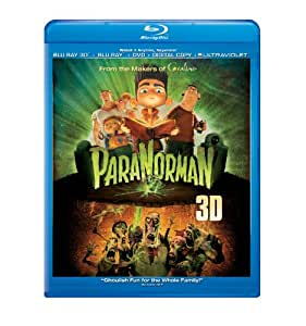 ParaNorman (Blu-ray 3D + Blu-ray + DVD + Digital Copy + UltraViolet)