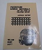 A Critical Study Of The Prehispanic Source…