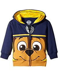 Boys' Toddler Paw Patrol Character Big Face Zip-up Hoodies