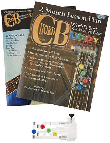 ChordBuddy Guitar Learning System for Right Handed Guitars. Includes ...