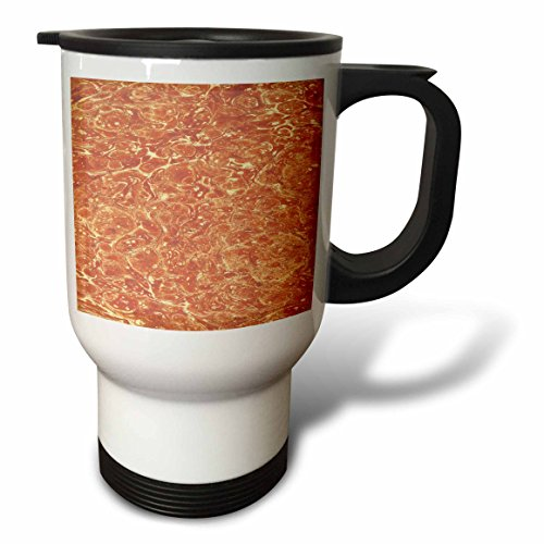 3dRose TDSwhite – Patterns Designs - Antique Abstract Design Marbleized Classic - 14oz Stainless Steel Travel Mug (tm_281781_1) by 3dRose