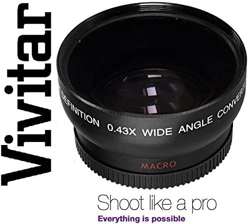 52mm compatible HD WIDE ANGLE WITH MACRO LENS FOR CANON EOS M EF-M 18-55mm STM KIT