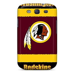 High Quality Phone Cases For Samsung Galaxy S3 With Support Your Personal Customized Colorful Washington Redskins Pictures AaronBlanchette