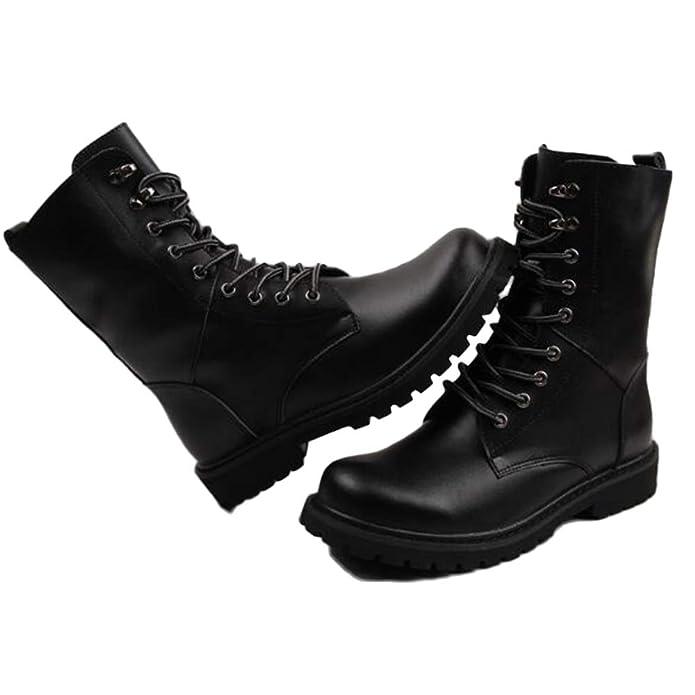 Botas De Seguridad Dewalt para Hombre Livianas Impermeables Zapatillas De Deporte Otoño E Invierno Botas Altas De Cuero para Hombres Antideslizantes: ...
