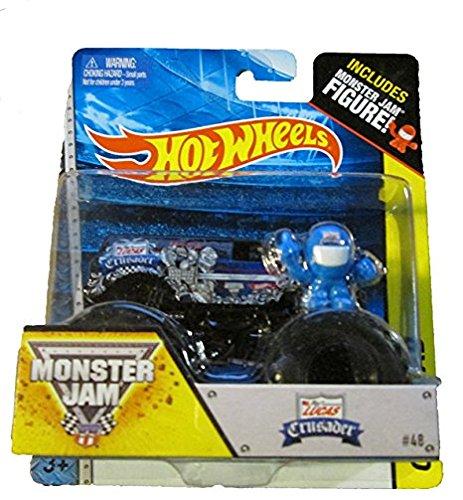 Hot Wheels Off-Road Monster Jam 2014 Includes Mini Figure Lucas Crusader #48