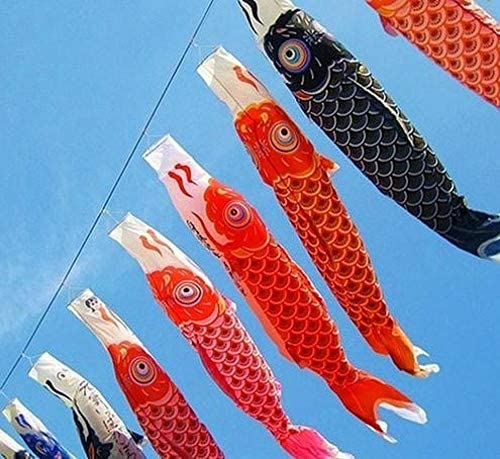 こいのぼりこいのぼり鯉吹き流しストリーマ魚国旗パーティー装飾メッド魚カイトハング壁の装飾 GBYGDQ (Color : 70cm)