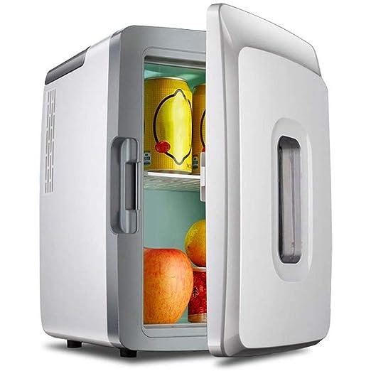 YHLZ Mini Nevera, refrigerador del Coche del Coche de Doble Uso ...