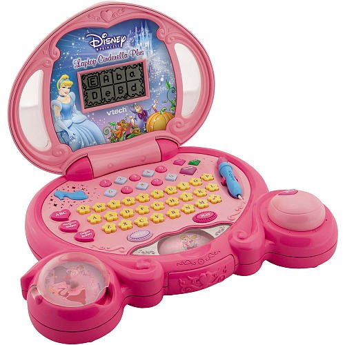 (VTech Licensed Learning Disney Princess Magic Wand Laptop)