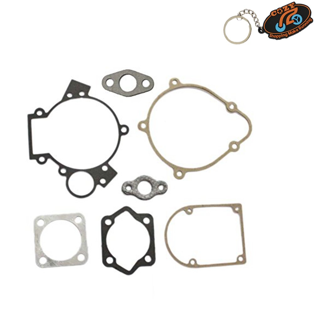 Cozy 66cc 80cc Gasket Kit Set for Motorized Bicycle Push Bike Motor Engine Part 8mm