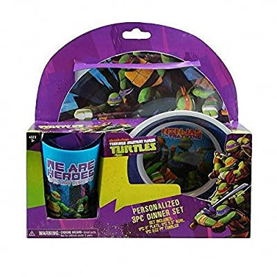 TMNT - Kids Dinnerware Set For Boys