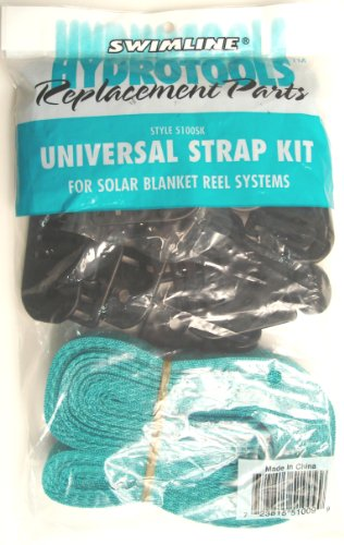 Swimline HydroTools Universal Pool Solar Reel Replacement Strap Kit