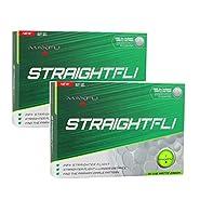 Maxfli StraightFli Golf Balls - Longer Straight Flight Distance