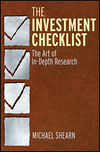 The Investment Checklist: The Art of In-Depth Research by Wiley