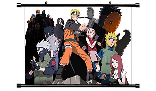 Naruto Anime Fabric Wall Scroll Poster Wp Naruto 2-55 L