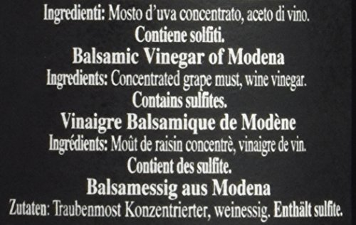 Fattoria Estense Balsamic Vinegar Gold Label, 8.5 Fluid Ounce 4 8.5 oz. Previously labeled as 12 year balsamic vinegar Imported from Modena, Italy
