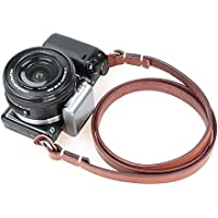 CANPIS Universal Genuine Leather Camera Shoulder Neck Strap for Leica Sony etc (Brown)