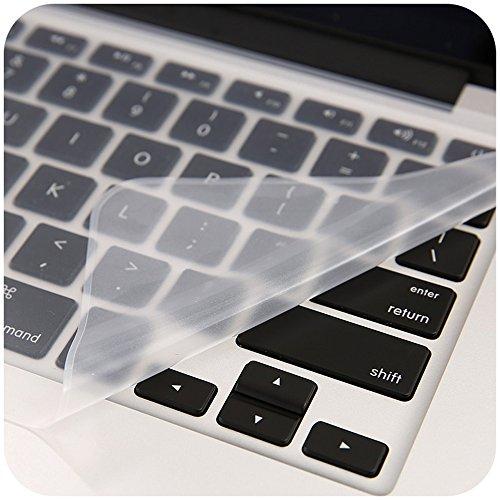 [해외]투명 실리콘 키보드는 13 15 17 (15,17) 3 팩으로 모든 컴퓨터에서 피부 막을 덮습니다./The Transparent Silicon Keyboard Covers the Skin Membrane for All Computer with 13  15  17  (15,17 ) 3 Packs