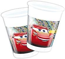 Cars 3 Cumpleaños Decoración de cumpleaños, 50 piezas para niños (Niño y Niña y Cars temática de fiesta para 8 Kids