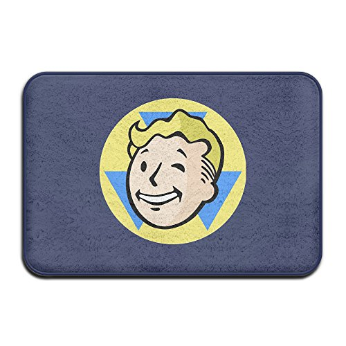 Fallout Cool Symbol Design Logo Printed Welcome Mat Doormat Outdoor (Fallout Armor Costume)