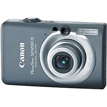 Canon PowerShot SD1200IS 10 MP Digital Camera with 3x Optical Image Stabilized Zoom and 2.5-inch LCD (Dark Gray)