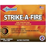 Diamond ''Strike a Fire'' Fire Starter Kit, 48 count/box - 2 box package.