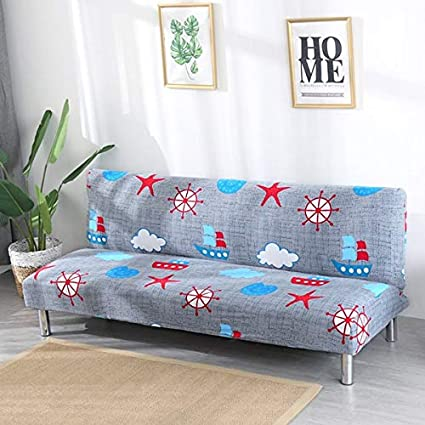 Buy Kitchy Sectional Sofa Covers Without Armrests Tight Wrap Slip