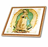 3dRose Photo of Painting of Our Lady of Guadalupe - Ceramic Tile, 6-inch (ct_60684_2)