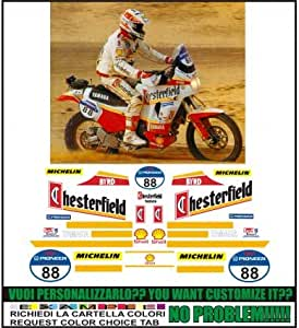 Emanuel & Co XT 750 Z Super TENERE Replica Chesterfield Paris Dakar 1991: Amazon.es: Coche y moto