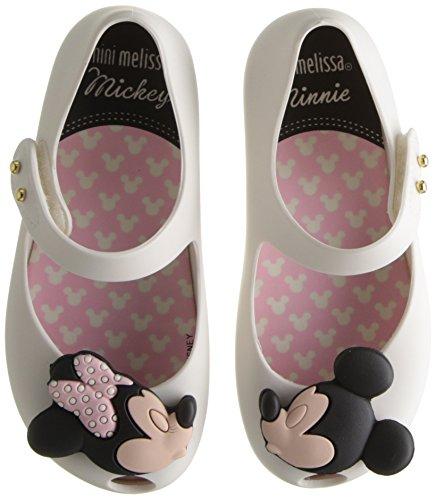 Mini Melissa Ultragirl Disney Twins BB Mary Jane Shoe (Toddler), White, 8 M US Toddler by Mini Melissa (Image #6)