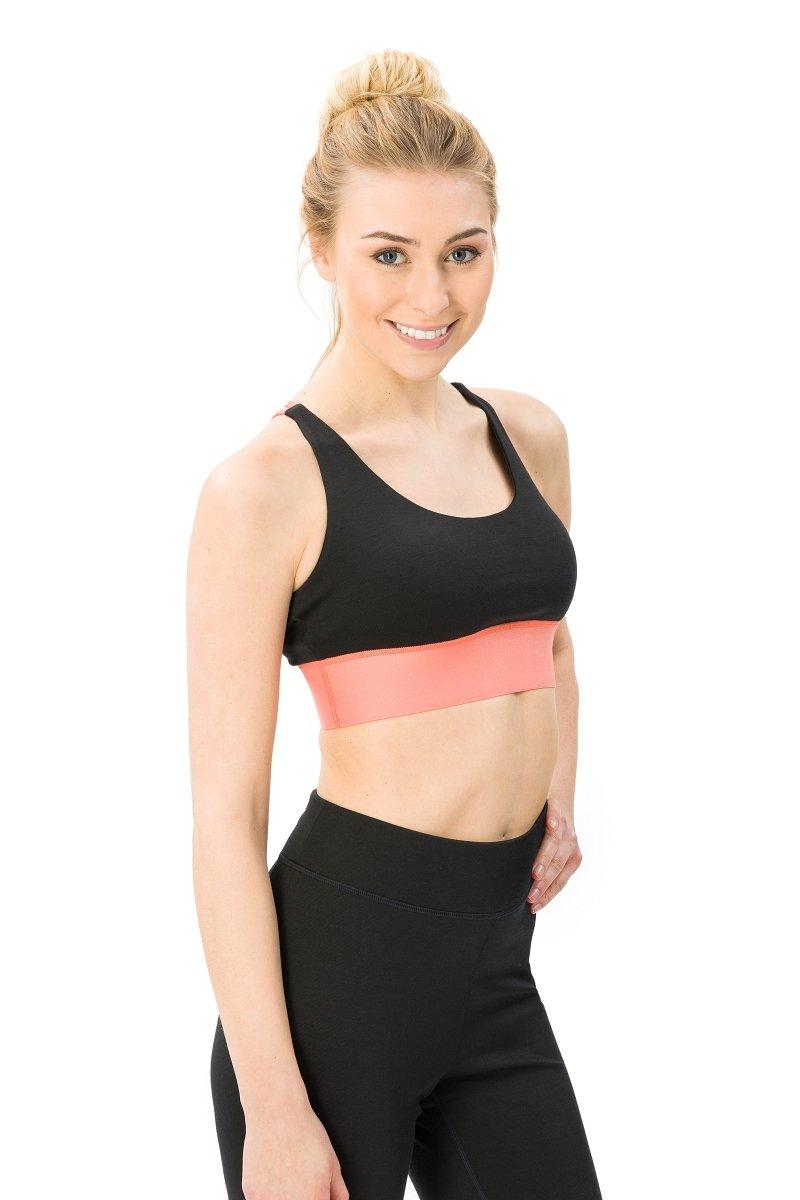 Super.natural Damen W Motion Yoga Bra Merino Tanktop