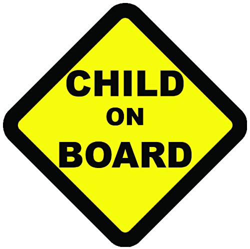 Child On Board Warning Safety Sign Sticker for Vehicles /& cars
