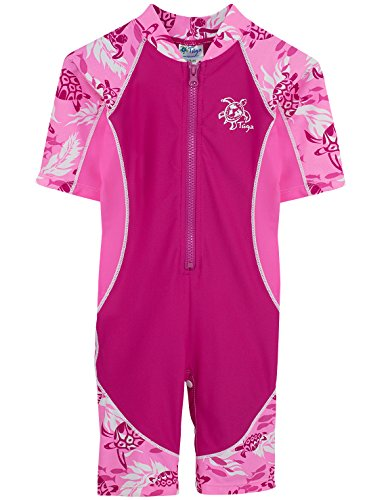 Cotton Candy 3-6 mos Tuga Girls Low Tide S//S Swimsuit UPF 50+