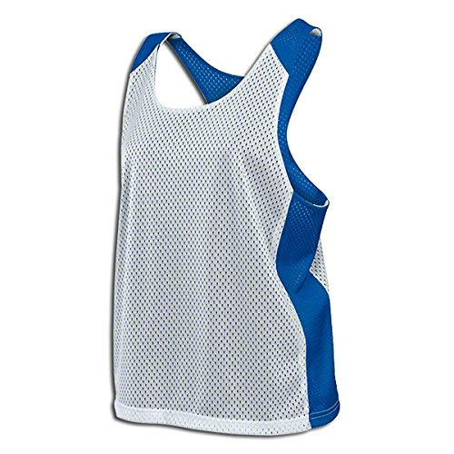 (Nike Lacrosse T-Shirt - Nike Stock Womens Mesh Reversible Tank Royal L Lacrosse T-Shirt)