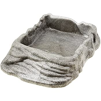 Zoo Med Reptile Ramp Bowl, X-Large, Assorted Colors