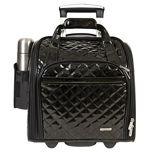 Travelon : Wheeled Underseat Carry-On with Back-Up Bag, ()
