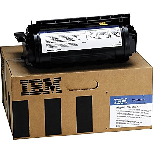 IBM 75P4303 Genuine Black High Capacity Laser Toner Cartridge