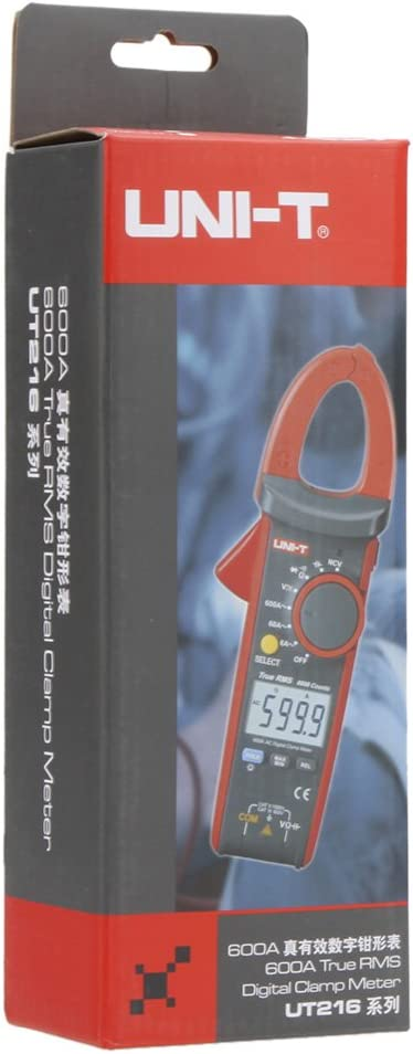 Uni T Ut216c 600a True Rms Digital Clamp Meter Auto Range W Frequenz Kapazität Temperatur Ncv Test Baumarkt