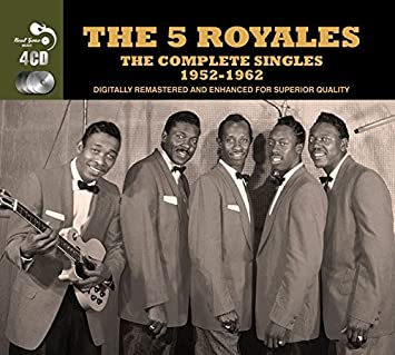 Amazon | 5 Royales, The - The Complete Singles 1952-1962 by The 5 Royales |  The 5 Royales | ミュージック | 音楽