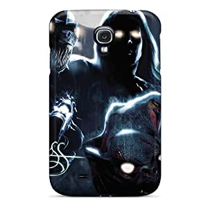 Hot Tpu Cover Case For Galaxy/ S4 Case Cover Skin - Darkness by icecream design