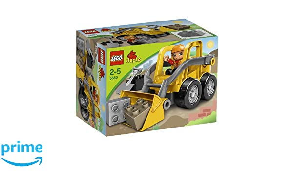 Amazon.com: lego duplo front loader 5650: toys & games