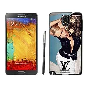 Galaxy Note 3 Case,Louis Vuitton 08 Black Samsung Galaxy Note 3 Screen Phone Case Elegant and Grace Design