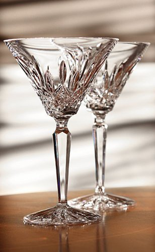 Waterford Classic Lismore Martini Glass, Pair by Waterford