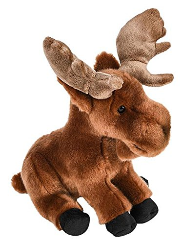 ffed Moose Plush Floppy Animal Heirloom Collection ()