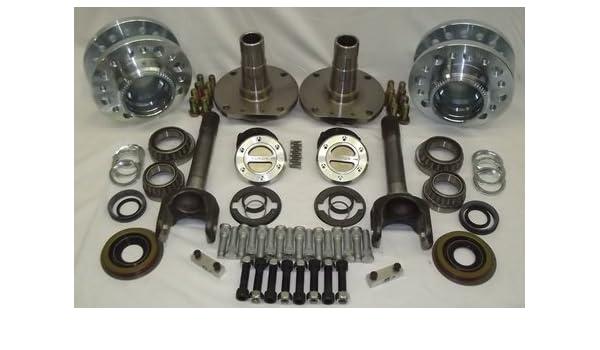 EMS Offroad HC-10D-SRW Hub Conversion Kit for 2010-2011 Dodge 2500//3500 SRW