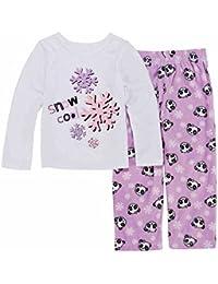 Toddler Girls Snow Cool Pajama 2 Piece Panda Bear Sleep Set