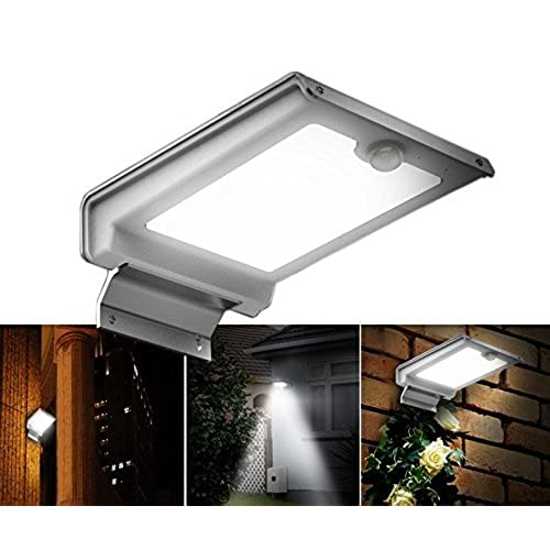 Front door lighting amazon irse solar light 46 led security motion sensor lights wall wireless lighting waterproof outdoor front back door patio garden garage stairs porch mailbox no aloadofball Image collections