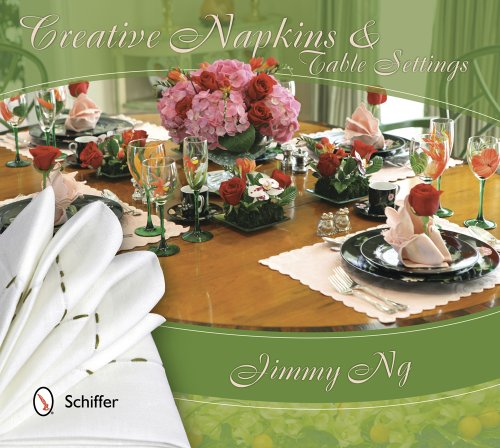 Creative Napkins and Table Settings by Jimmy Ng