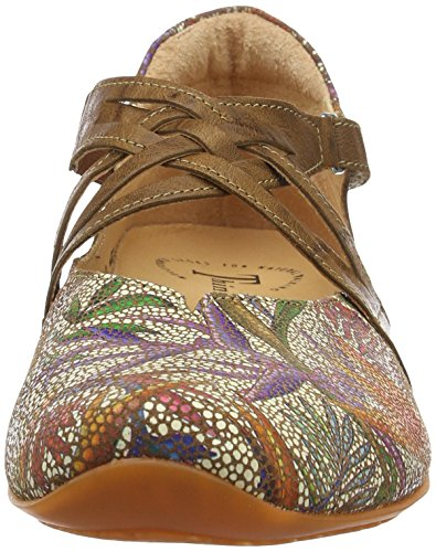 40 Femme kombi Multicolore Think Ballerines Chilli muskat nqwfzWHTx7