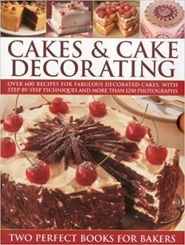 Cakes Cake Decorating Over 600 Recipes For Fabulous